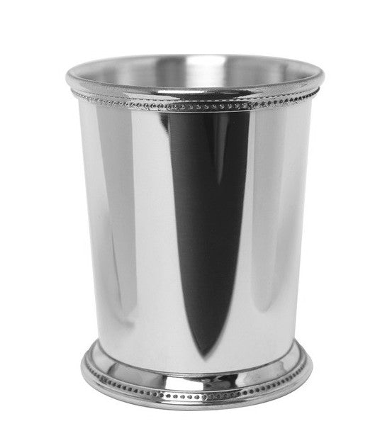 Engraved Mississippi Pewter Julep Cup