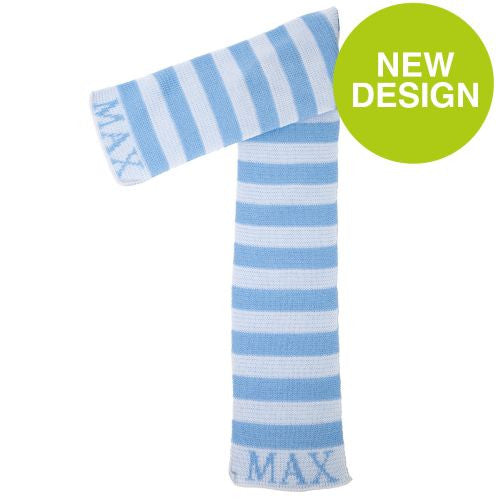 Personalized Modern Stripe Scarf