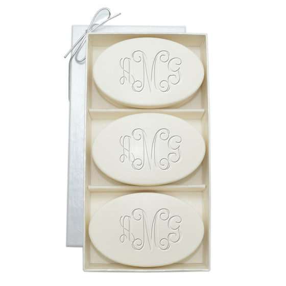 Signature Spa Personalized  Soap - 3 Bar Gift Set