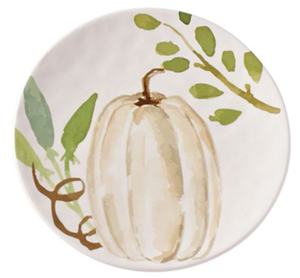 Autumn Salad Plates