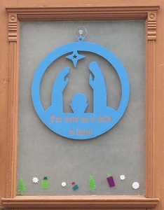 Nativity Door Hanger