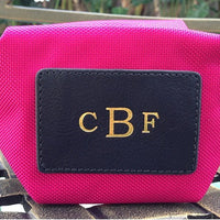 Monogrammed Origami Cosmetic Pouch