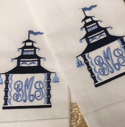 Treasured Temple Handtowels