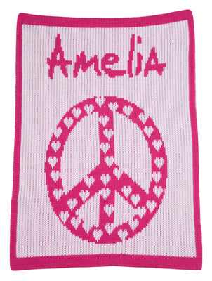 Personalized Cashmere Blanket