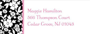 Petite Flower Address Label
