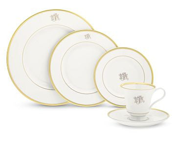 Pickard Signature Five Piece Place Setting