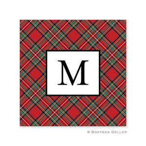 Plaid Red Coaster