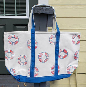 Monogrammed Life Saver Classic Tote