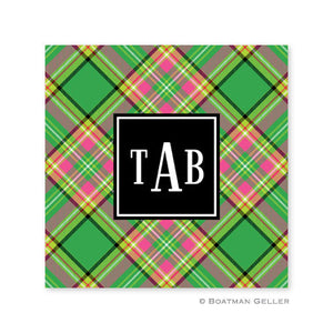 Preppy Plaid Coaster