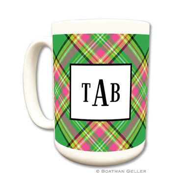 Preppy Plaid Coffee Mug