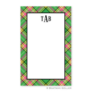 Preppy Plaid Notepad