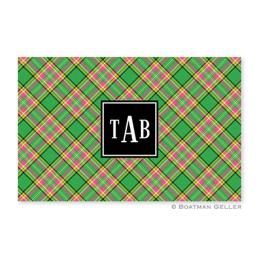 Preppy Plaid Placemat