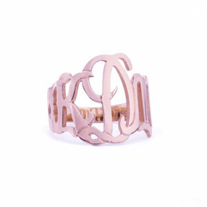 14k Gold Cheshire Cutout Ring