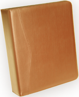 Executive 2 Inch D Ring Binder in Leather