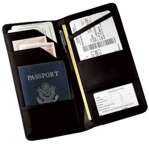 Monogrammed Checkpoint Passport