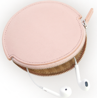 Circular Earbud Travel Case