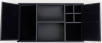 Leather Executive Valet Desk Organizer Tray