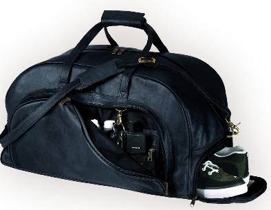 Duffel Bag with Shoe Compartment
