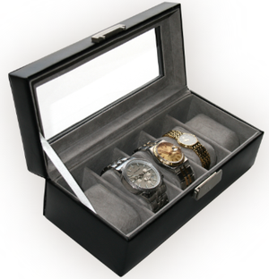 Five Slot Watch Box