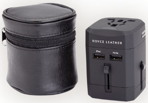 International Travel Adapter in Case