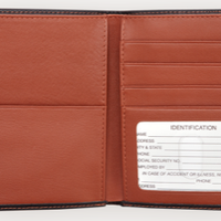 RFID Blocking Passport Wallet