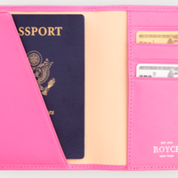 RFID Blocking Travel Document Case