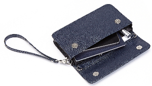 RFID Blocking Women's Wristlet Cross Body Bag