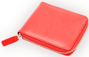 RFID Blocking Zip Wallet