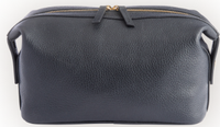 Toiletry Bag in Pebbled Leather