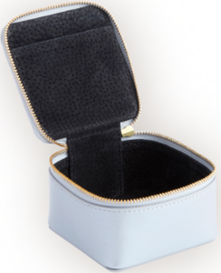 Trinket Case in Genuine Leather