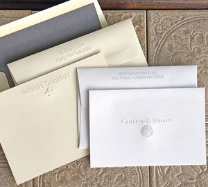 Embossed Foldnotes