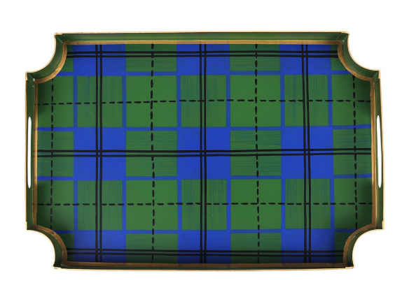Scottish Blue & Green Jaye Tray