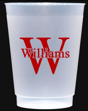 Personalized Shatterproof 10 oz Cups