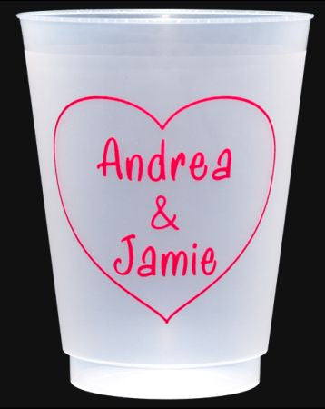 Shatterproof 16 oz Personalized Cups
