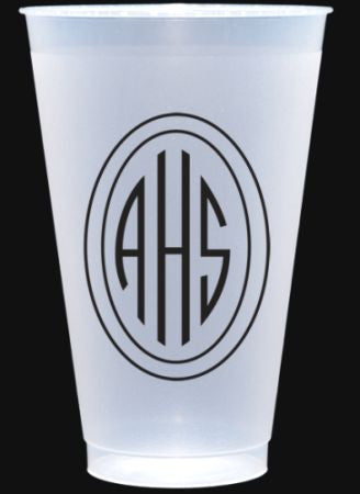 Shatterproof 20 oz Personalized Cups