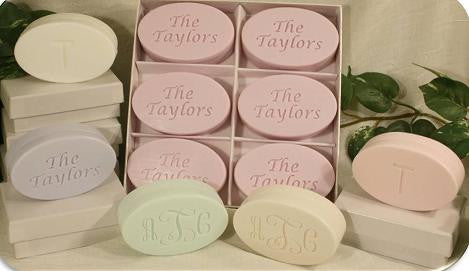 Signature Spa Monogram Soap - 6 Bar Gift Set