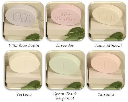Signature Spa Monogram Bar of Soap