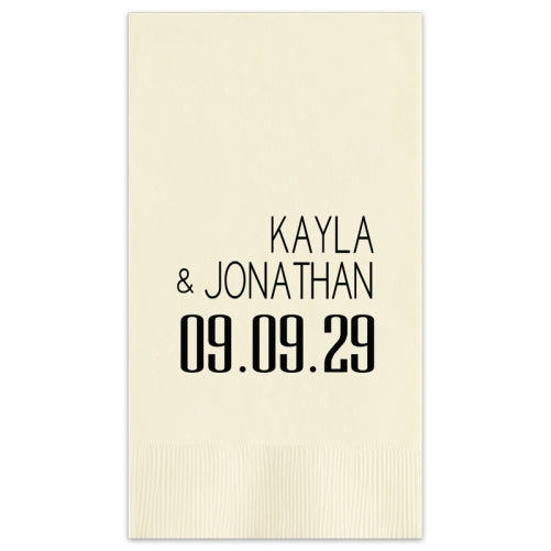Soho Wedding Guest Towels