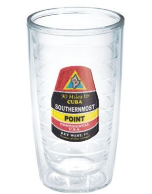 Monogrammed Southern Most Point Bouy Tervis Tumbler