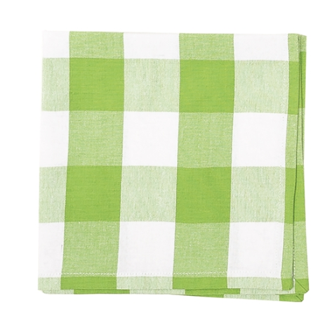 Monogrammed Buffalo Check Napkins/Set of 4