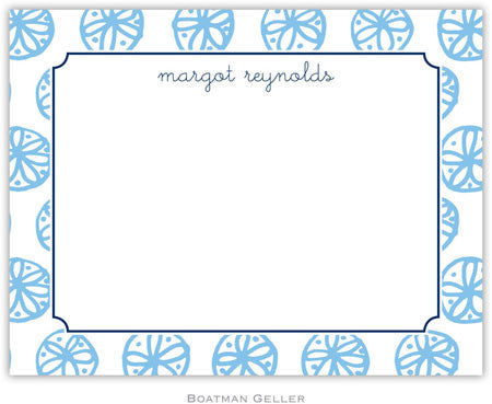 Summer Light Blue Flat Notecard