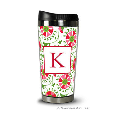 Suzani Holiday Travel Tumbler