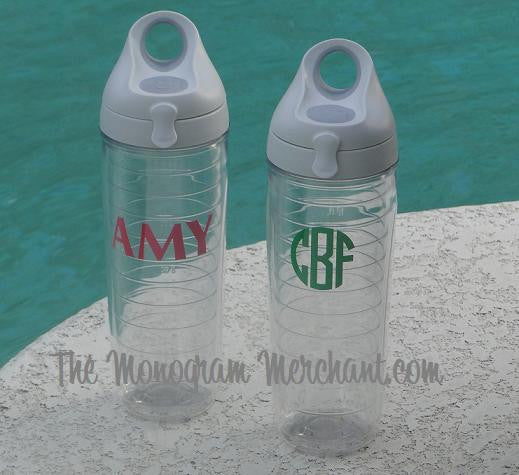 Monogrammed Tervis Tumbler Water Bottle