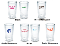 Monogrammed Anchor Tervis Tumbler