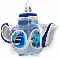 Teapot - Blue & White