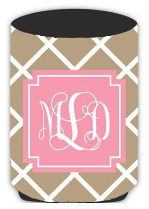 Personalized Lattice Koozie