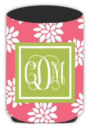 Personalized City Flower Koozie
