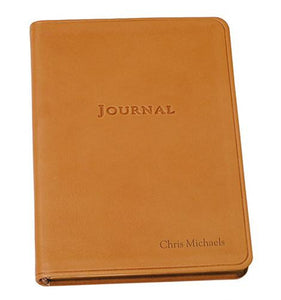 Small Traditional Leather Travel Journal