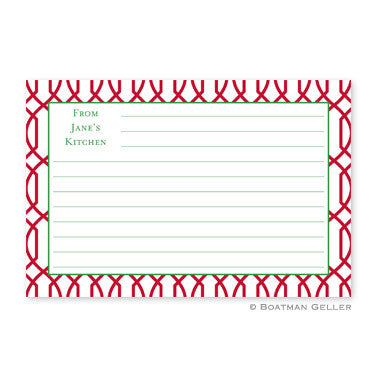 Trellis Reverse Cherry Recipe Card