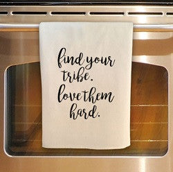 Find Your Tribe Tea Towel